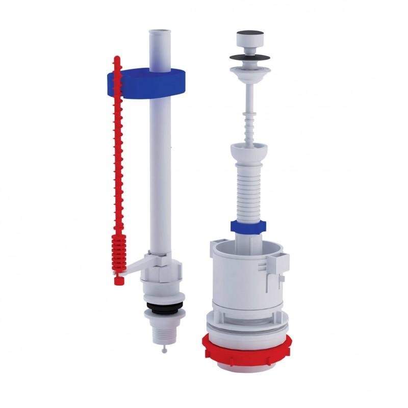 ANI Plast (WC4550M) Арматура спускная с клапаном нижней подачи