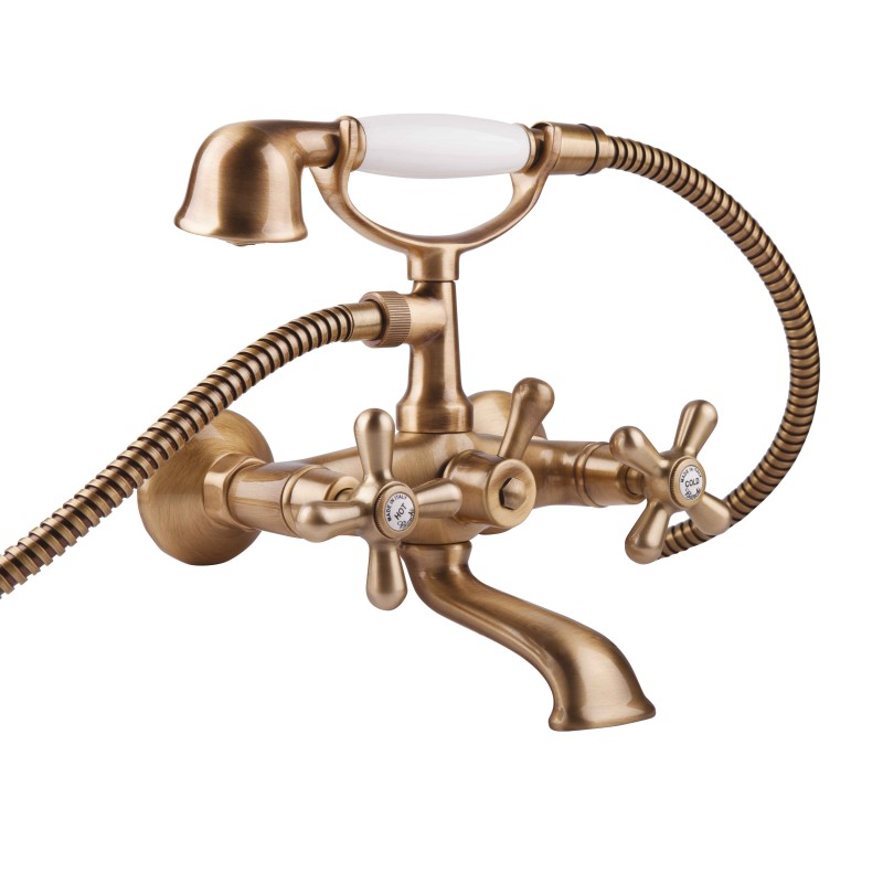 Bianchi Old Fashion VSCOLF1023#OLF00VOT (VSCOLF 1023OLF00 VOT) Смеситель для ванны с душевым комплектом