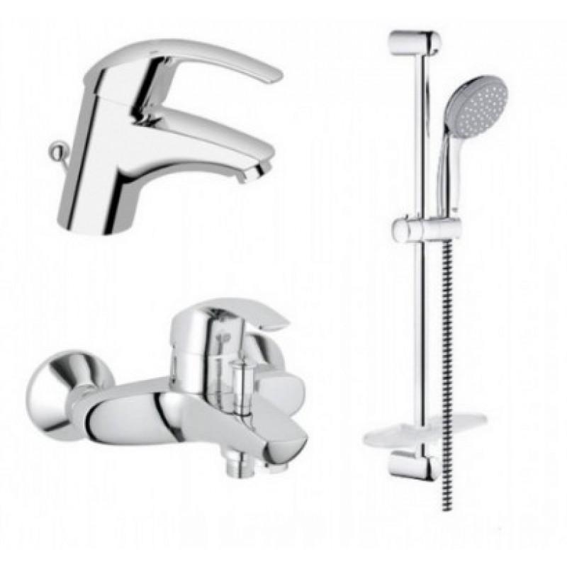 Grohe Eurosmart 123238 смесители для умывальника,ванны,стойка