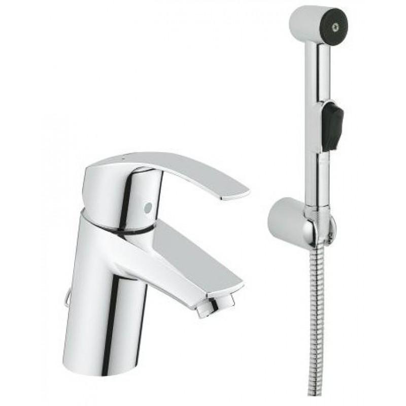 Grohe Eurosmart 23124002 смеситель для умывальника с душем