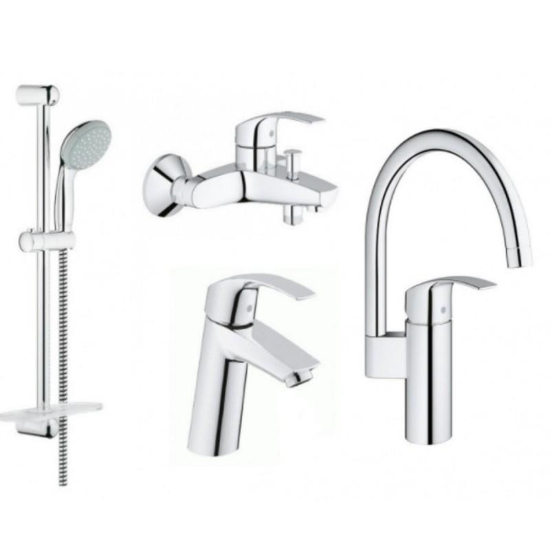 Grohe Eurosmart 123248MK Смесители для кухни, ванны, умывальника, стойки S-Size