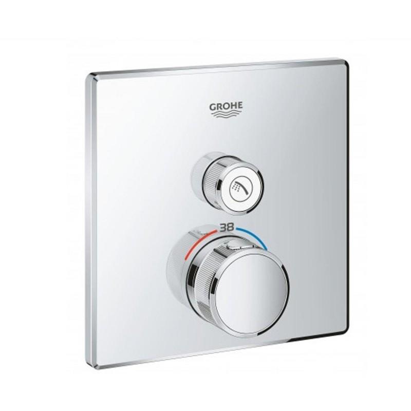 Grohe Grohtherm SmartControl 29123000 термостат для встраиваемого монтажа на 1 выход