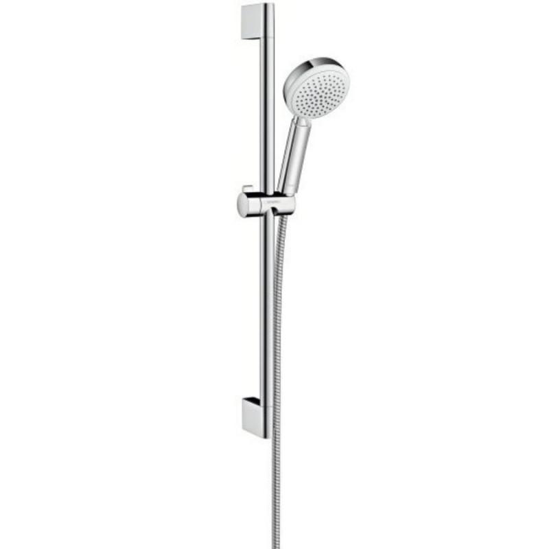 Hansgrohe Crometta 26651400 душевой набор 0,65м Белый/хром