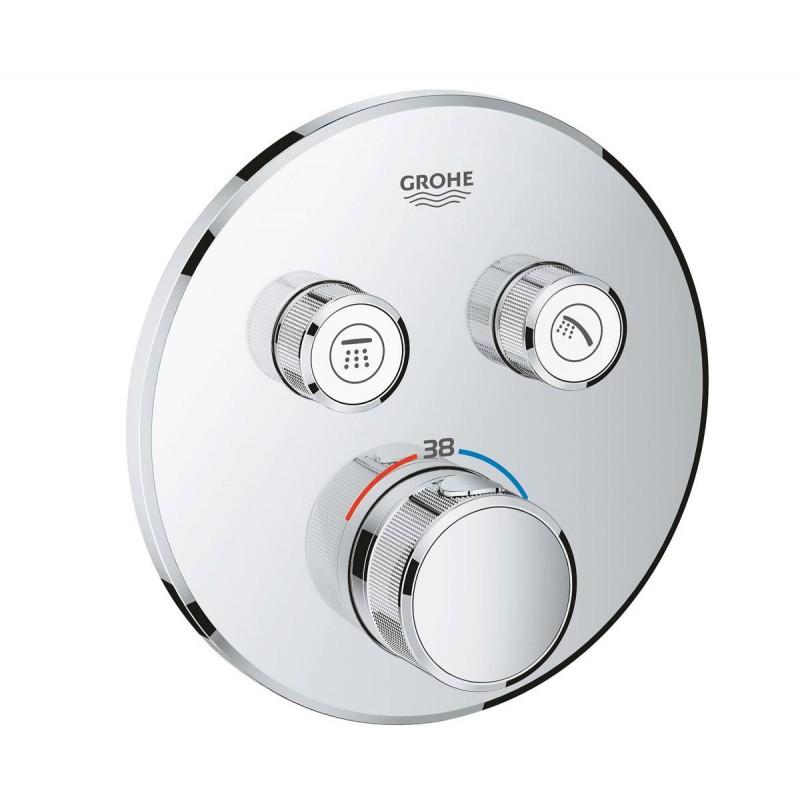 Grohe SmartControl 29119000 Термостат для встраиваемого монтажа на 2 выхода