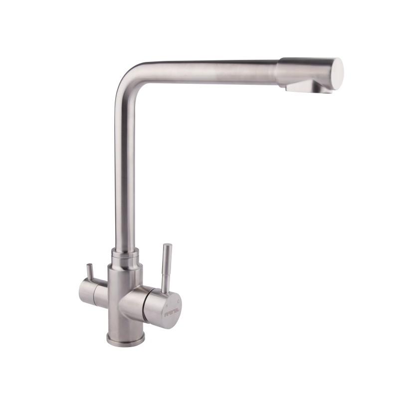 Imperial (8201) 307-1 Смеситель для кухни U Нержавеющая сталь с фильтром