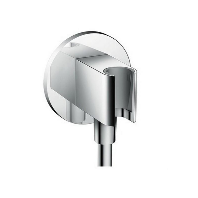 Подключение для душевого шланга с держателем лейки Hansgrohe Fixfit Porter S 26487000